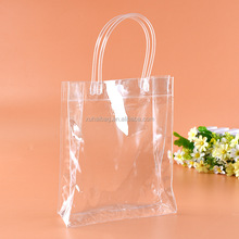 Top quality plain clear pvc beach tote bag