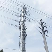 110kv 35kv Electric Power Transmission Steel Pole