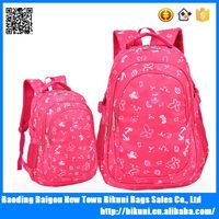 Teenagers flower pattern Backpacks for girls Elementary school student Book bag