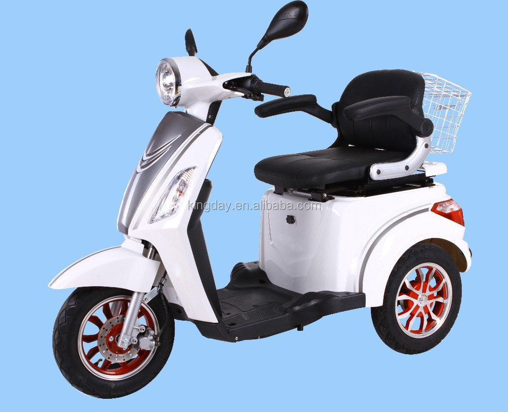EEC , COC approved electric tricycle with passenger seat