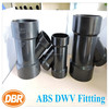 DBR 2830 ABS 4x4x3 inch reducing wye fittings for UPC plumbing / ASTM DWV pipe fittings
