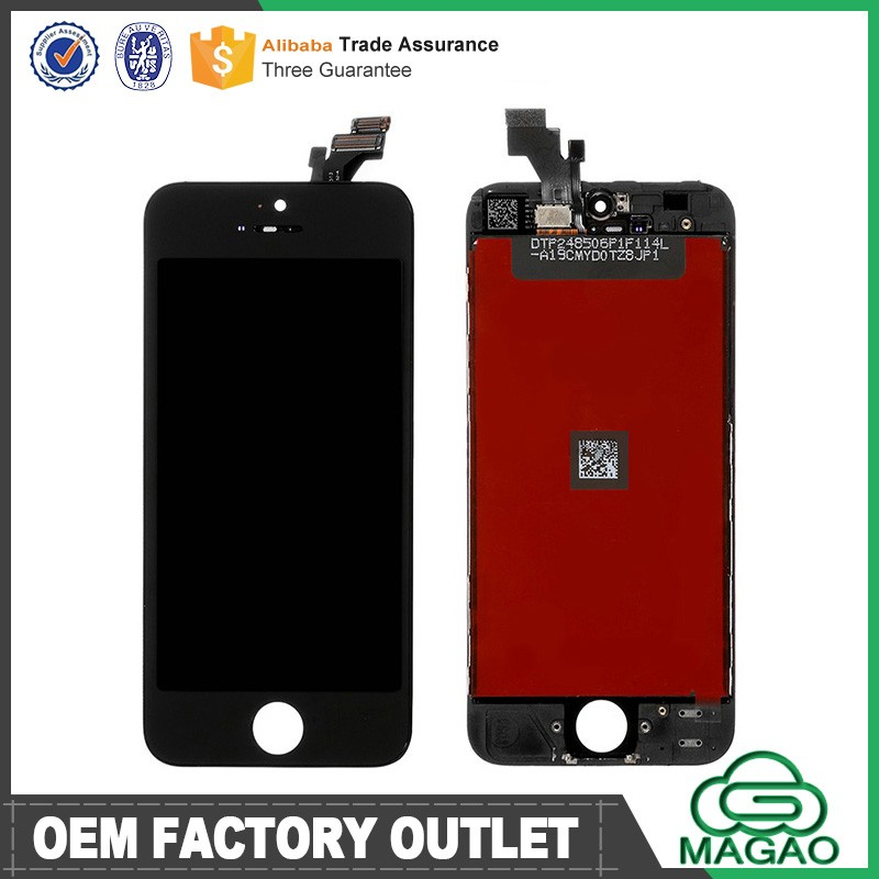 LCD and Digitizer for iPhone 5 Assembly with High Quality