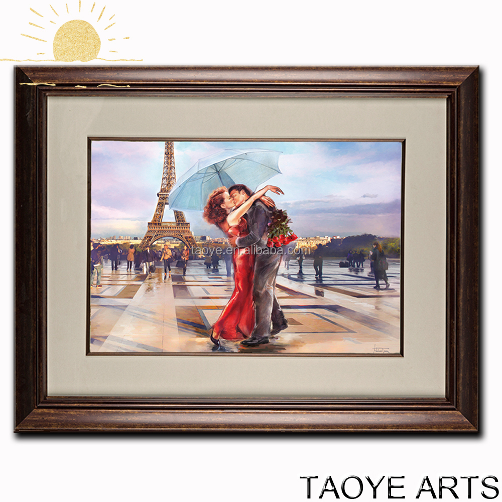 Room scenery painting for wall decor famous scenery paintings