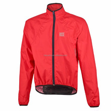 men polyester Windproof&Waterproof bicycle/out door rain Jacket with hood
