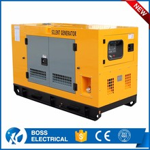 Power Canopy Electric Diesel Generator 15 Kw With brand engine