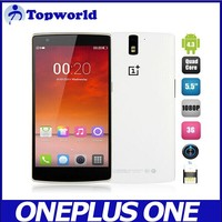 5.5 Inch China smart phone Oneplus One Android 4.3 Snapdragon 801 Quad core RAM 3GB ROM 16GB