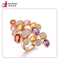 925 sterling silver jewelry wholesale CZ ring fashion jewelry