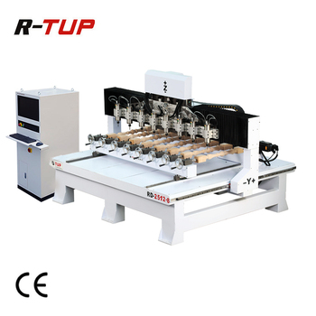 RD2512-8 CNC Woodworking Carving Machine 4 axis