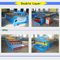 China double layer corrugated steel roll forming machine