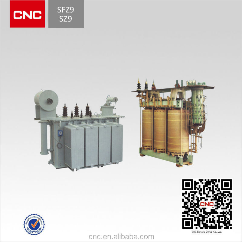 Oil Immersed On-Load-Tap-Changing auto power transformer