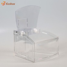 Factory Sourcing Clear Top Selling Plastic Candy Box/ Food Organizer Box /Gravity Feed Bulk Dispenser for Germany
