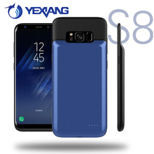 Smart Phone Battery Case For Samsung Galaxy s8 Power Charger Case External Backup Battery Case Charged Power