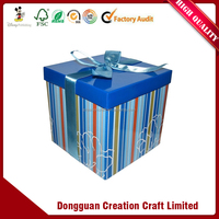 China suppliers wholesale professional High quality custom printed colorful hard paper gift box