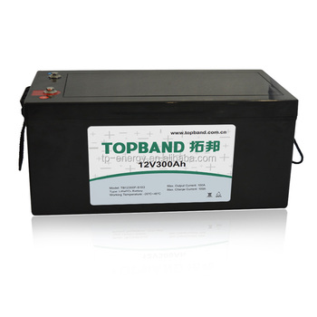 Hot sell Lithium Battery 12V 300AH Rechargeable Battery for RV/Boat