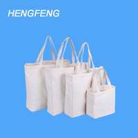 Factory Price Blank Bulk Reusable Canvas Cotton Shopping Bags With Customized Logo