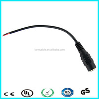 Hot! Car use 2.5mm dc cable with black box fuse 2a for gps