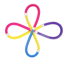 Wholesale Flexible Spring PVC Elastic Hula Hoop