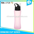 Cheap beautiful portable silicone foldable water bottle