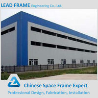 Cost Saving Prefabricated Steel Frame House for Flow Shop