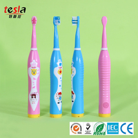 TESLA MAF8600M China manufacturer USB charging music children's soft bristle electric toothbrush