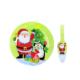 Christmas or birthday cake serving plate set