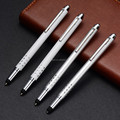 Cheap stylus touch ball pens with gold clip