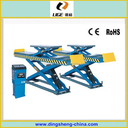 big scissor lifting equipment SUV car usage D35B