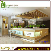 Stylish booth design for coffee, coffe shop design with your logo