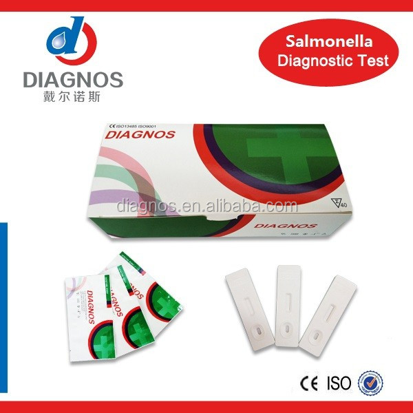 Salmonella typhi antigen diagnostic rapid test