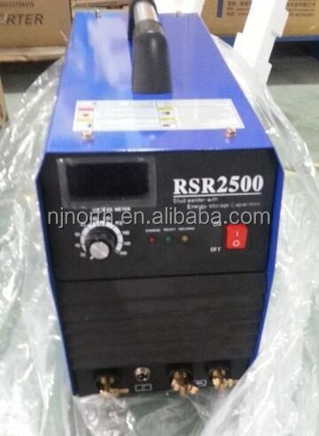 high quality energy storage stud welding machine RSR2500 with stud gun for hobby stud welding