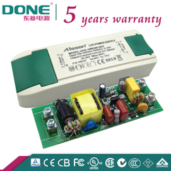 Done 10W 300ma Indoor Triac Dimmable LED Driver/LED Power Supply TUV,CE,CB,SAA,C-TICK,UL,PSE 110V 220V