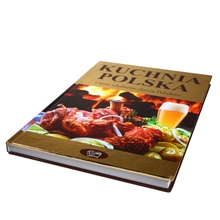 High Class Professional Hardcover Food Menu Cook Book Recipe Printing