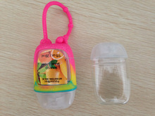 Alcohol gel Instant Hand Sanitizer New Round Angel Oval 30ml Plastic Bottle Silicone Holders