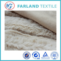 knitted fabric plush fabric used for ugg boots
