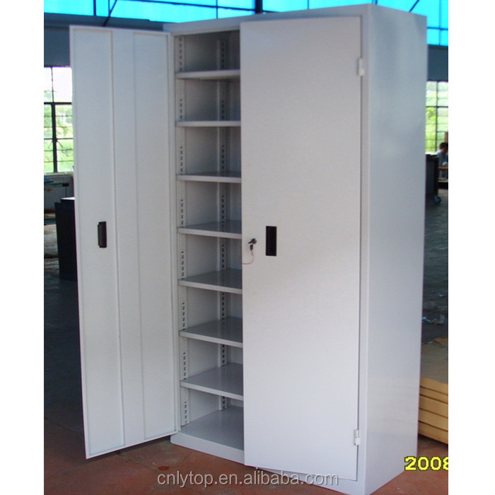 Thick plate large capacity metal garage tool storage cabinets