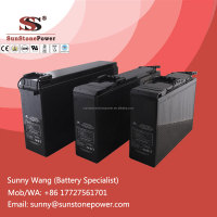Deep cycle AGM Battery 12V 75AH Front Terminal Lead Acid SLA Storage Battery Cell