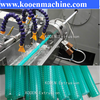 KOOEN pvc reinforced soft hose pipe production /extrusion line/ machine/ making machine