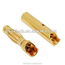 RC Connector 4.0mm gold plated Bullet Banana connector male and female