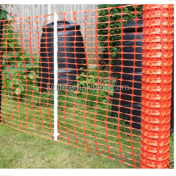 Portable Plastic Safe Mesh With Fence Post