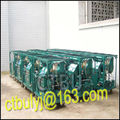 Transformer oil treatment plant with double stage vacuum pumps