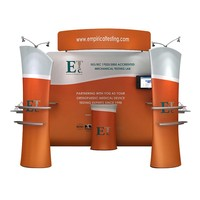 Trade Show Backdrop Wall Tension Fabric Display