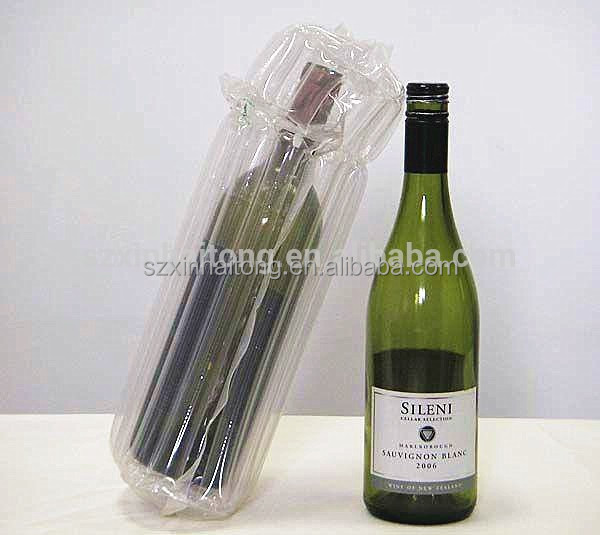 Hongbang Inflatable packaging fill air bag air column bag for wine bottle 004