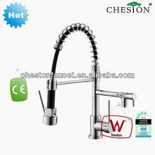 2288A Single-lever pull down kitchen mixer pvc pipe faucet