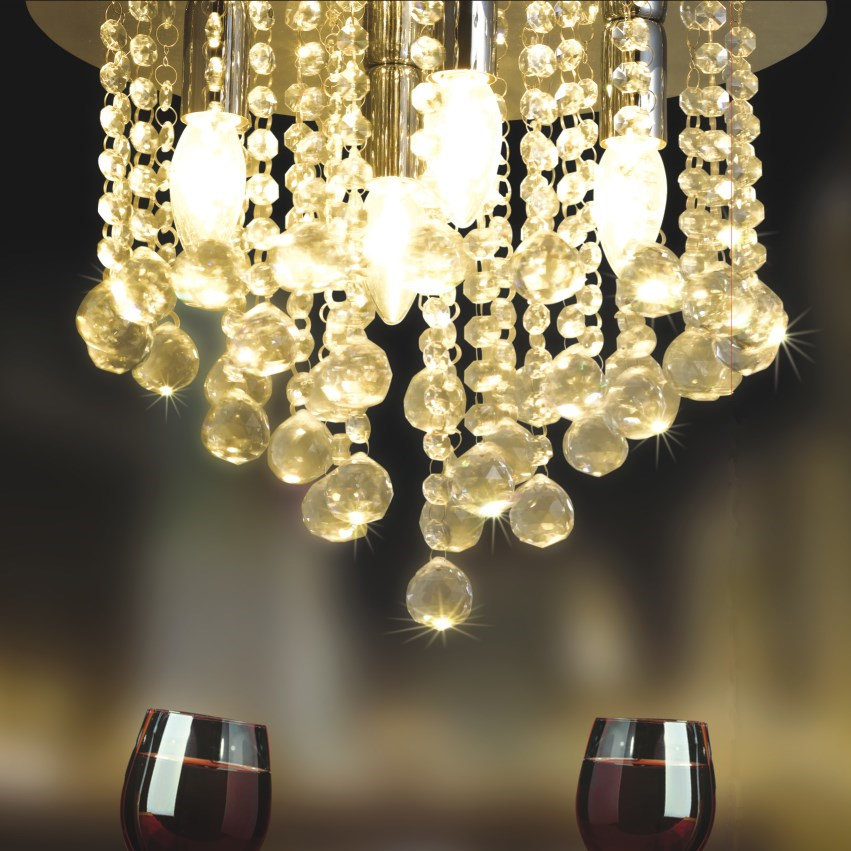 Hotel Modern Decorative Round Ball Lustre Used Chandelier Lighting Cristal