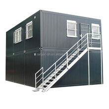 Easy installation two storey flat pack container house