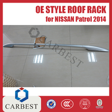 High Quality Aluminium OE Style Roof rack for Nissan Patrol y61 y62 2014