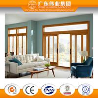 aluminum frame sliding glass door for living room