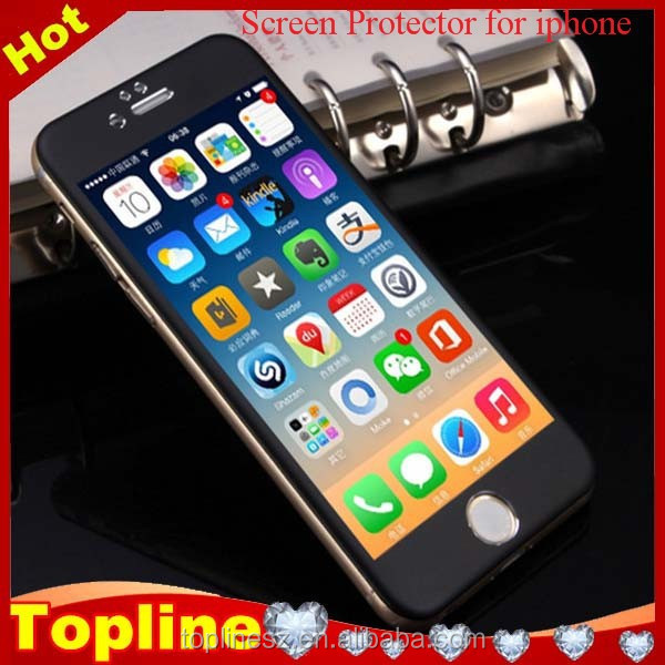sefl-adhensive privacy tempered glass screen protector for mobile iphone4/4s iphone5/5s iphone6/6+ ipadmini