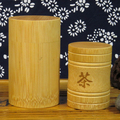 Wooden/Bamboo Tea Packaging Container Tea Cardboard Can Tea Paper Tube Can