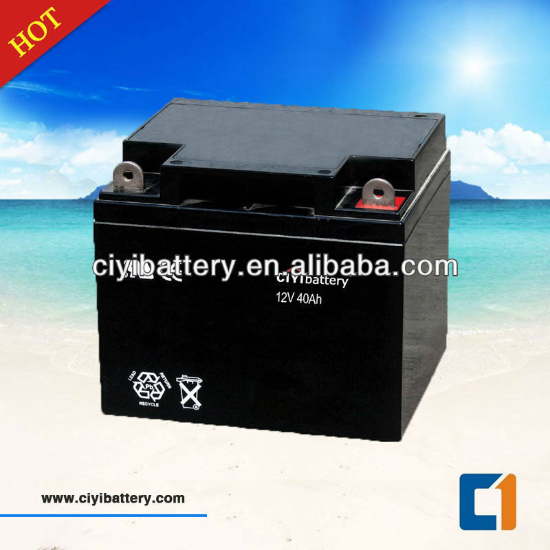Deep Cycle Battery Solar Storage Battery 12V 40AH